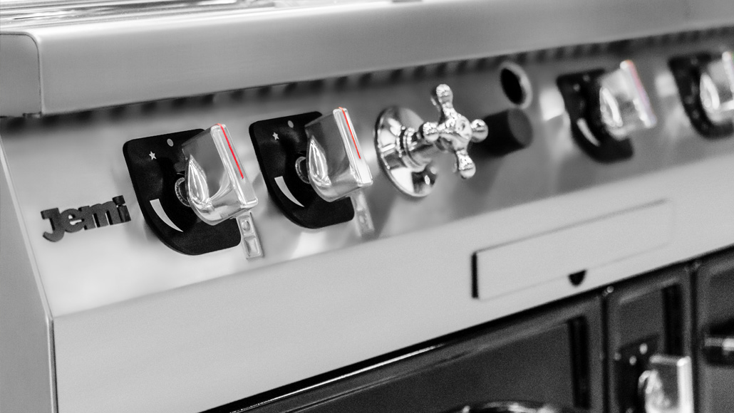 New cookers controls, fine design and better handling